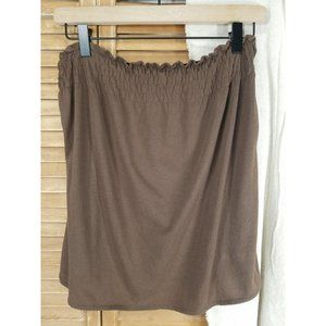Old Navy Brown Small Tube Top